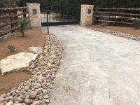 Stone and Cedar Entrance